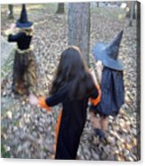 Little Witches Acrylic Print