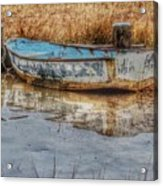 Little Wooden Boat Acrylic Print