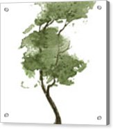 Little Zen Tree 206 Acrylic Print