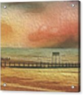 Littlehampton Beach Acrylic Print