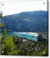 Livadi Beach On Thassos Island Acrylic Print