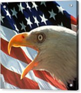 Live Free Or Die Acrylic Print by Carl Purcell