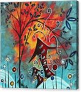 Live Life II By Madart Acrylic Print