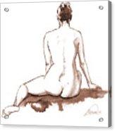 Live Model Figure   Acrylic Print