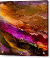 Live Your Passion - A - Acrylic Print