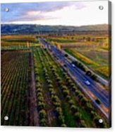Livermore Wine Country--las Positas Winery Acrylic Print
