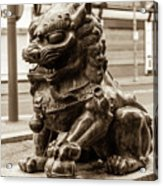 Liverpool Chinatown - Chinese Lion A Acrylic Print