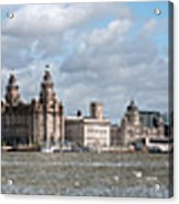 Liverpool Panoramic View Acrylic Print