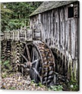 Cable Mill Gristmill - Great Smoky Mountains National Park Acrylic Print