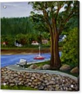 Living In Annapolis Royal Acrylic Print