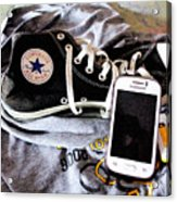 Living In Converse Resting Time  Acrylic Print