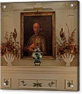 Living Room Mantle Display - 1 Acrylic Print