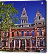 Livingston County Courthouse 1 Acrylic Print