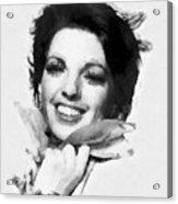 Liza Minnelli By John Springfield Acrylic Print