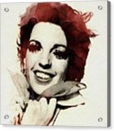 Liza Minnelli Acrylic Print