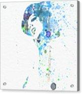 Liza Minnelli Acrylic Print by Naxart Studio