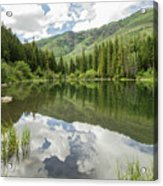 Lizard Lake Reflections Acrylic Print