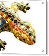 Lizard Souvenir By Antony Gaudi Acrylic Print
