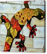 Lizard Wall Art Acrylic Print