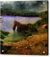 Lake Of Stars Acrylic Print