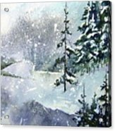 Lket It Snow - Let It Snow Acrylic Print