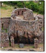 Llactapata Ruins Acrylic Print