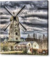 Llancayo Mill Usk 3 Acrylic Print
