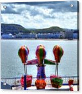 Llandudno Fun For The Kids On The Pier Acrylic Print