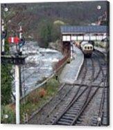 Llangollen Train Station Acrylic Print
