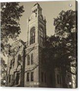 Llano County Courthouse - Vintage Acrylic Print