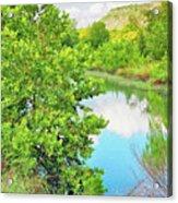 Llano River Scenic Acrylic Print