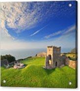 Llansteffan Castle 2 Acrylic Print
