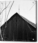 lloyd-shanks-barn-1BW Acrylic Print