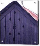 Lloyd Shanks Barn Acrylic Print