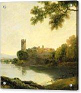 Llyn Peris And Dolbadarn Castle, North Wales Acrylic Print