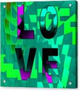 Lo Ve Acrylic Print