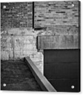 Load Ing Dock Acrylic Print