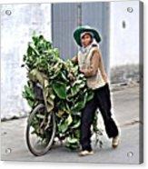 Loaded Bicycle Acrylic Print