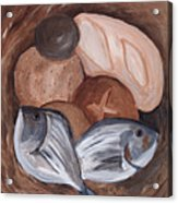 Loaves And Fishes Acrylic Print