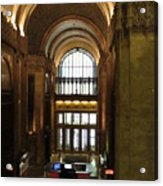 Lobby Of Woolworth Building Acrylic Print