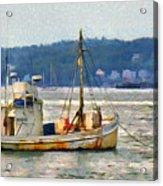 Lobster Boat Acrylic Print