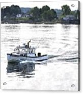 Lobster Boat Lbwc Acrylic Print