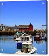 Lobster Boats Acrylic Print