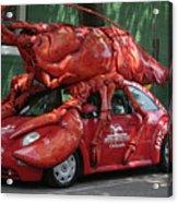 Lobster Car Acrylic Print