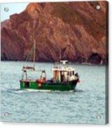 Lobster Fishing Boat Acrylic Print