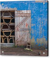 Lobster Trap Storage-2 Acrylic Print
