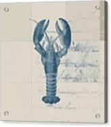Lobster - J122129185-1211 Acrylic Print