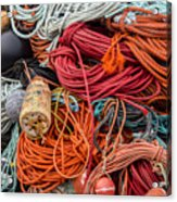 Lobstering Lines Acrylic Print