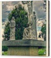 Local Cemetery Statue Acrylic Print