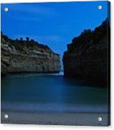 Loch Ard Gorge Under The Moonlight Acrylic Print